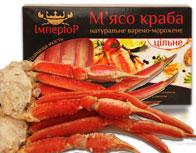Морские деликатесы (краб, кальмары...)